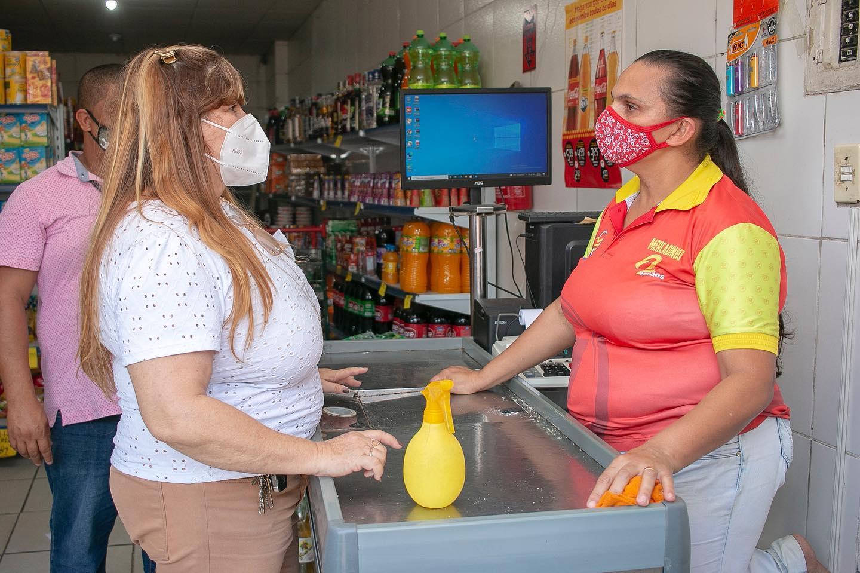 Fiscalização no Cumprimento do Decreto obrigatório do uso da Máscara