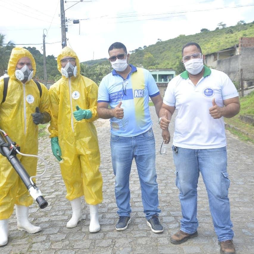 Ações contra a Dengue nos bairros da Cohab e Caixas