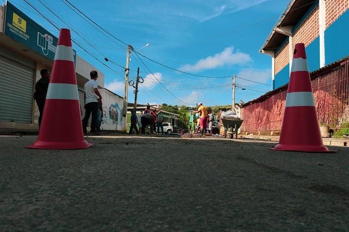 Prefeitura inicia operação tapa buraco em ruas da Cidade