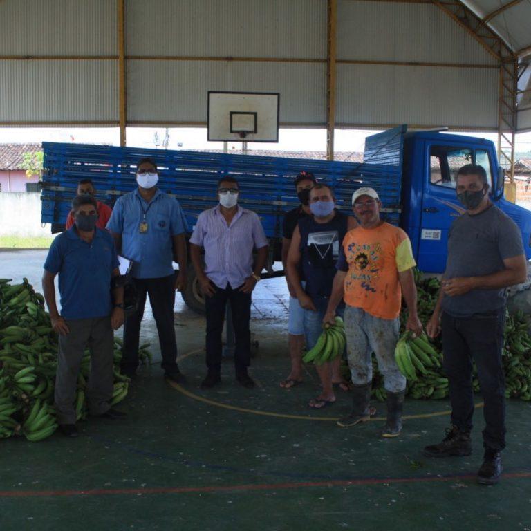 PAA realiza doação de mais 5 Toneladas de alimentos