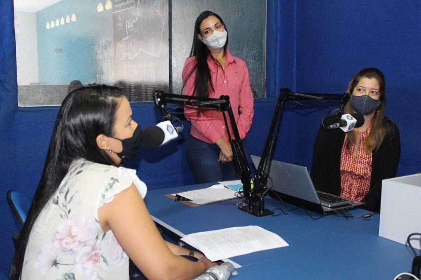 Bate papo na rádio farol FM sobre violência psicológica