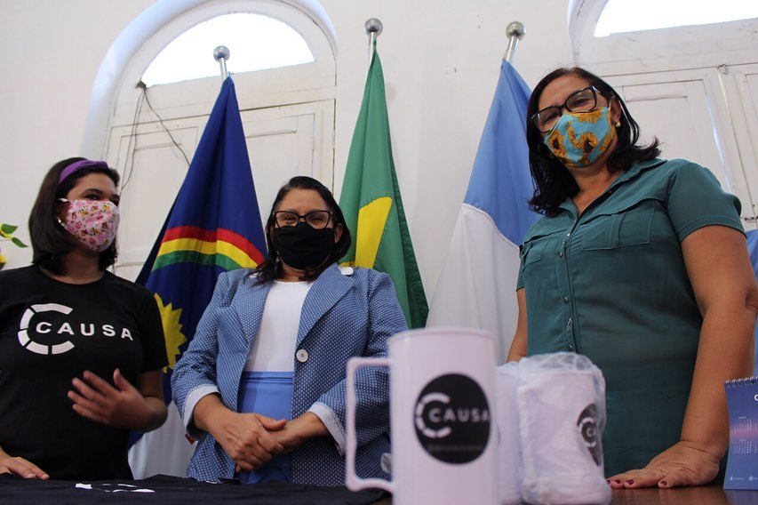 Projeto CAUSA visita prefeita Dona Graça