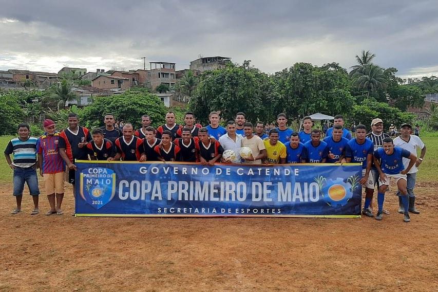 Prefeitura realiza com sucesso a 1ª Edição do Torneio do trabalhador em Catende