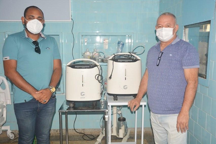 Governo do Estado envia concentradores de oxigênio para Catende
