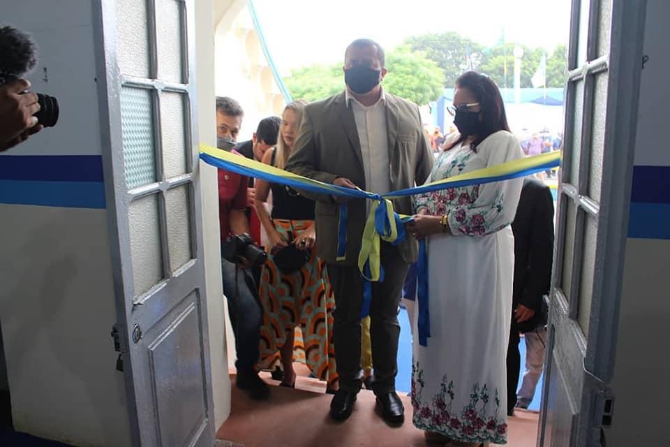 Inauguração do Prédio da Prefeitura