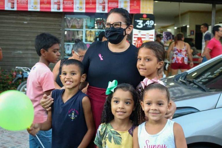 Dia das Crianças no Distrito de Lage Grande